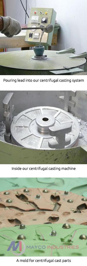 Centrifugal casting