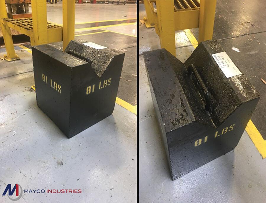 Concrete Ballast Block